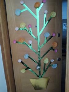 puerta primavera flores