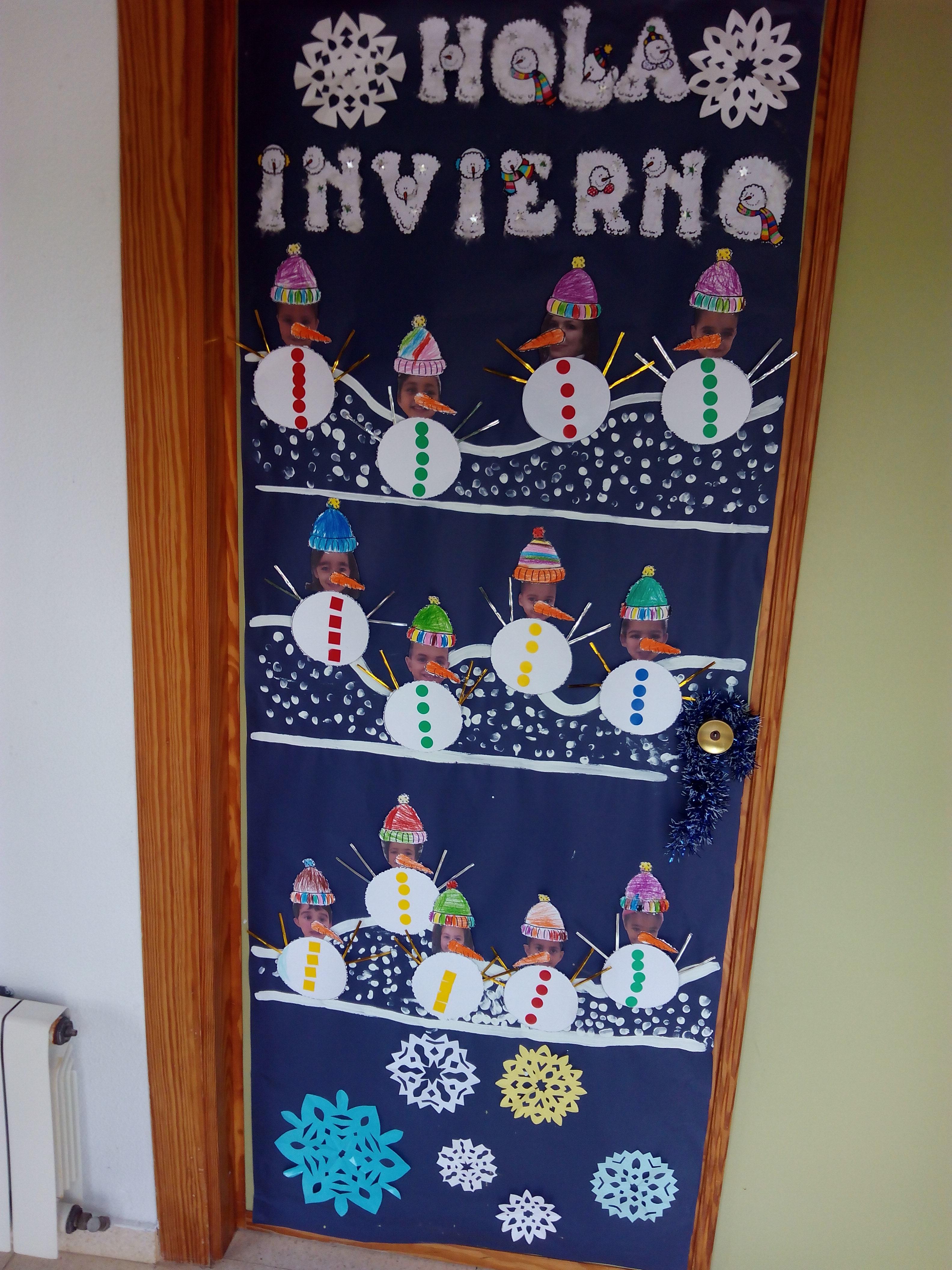 Puertas decoradas el mundo de trixi for Decoracion puerta aula infantil