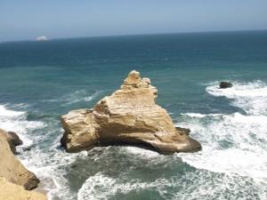Playa de las catedrales paracas