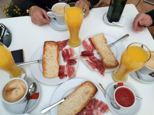 desayuno gourmet iberico