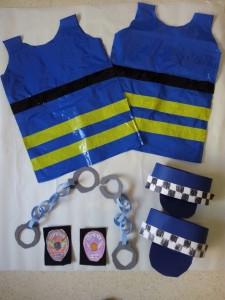 disfraz policia