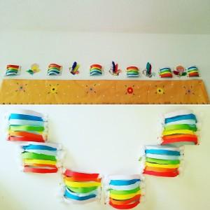 manualidades arco iris
