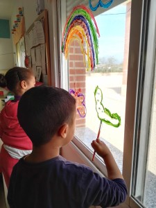 decoracion ventanas primavera